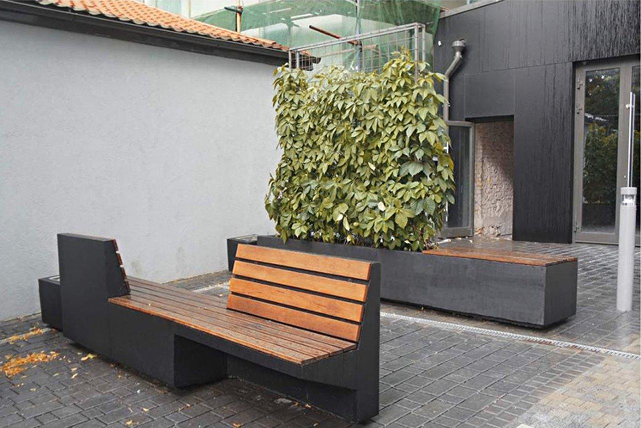 Архитектурный бетон скамейки формула строительных растворов